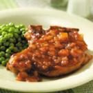Pineapple Barbecue Sauce Pork Chops