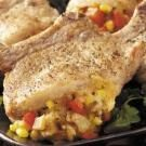Pepper-Stuffed Pork Chops