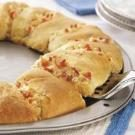 Bacon-Chicken Crescent Ring