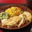 Black Bean-Chicken Quesadillas
