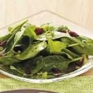 Quick Sweet-Sour Spinach Salad