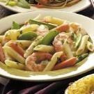 Penne Primavera with Shrimp