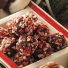 Peppermint Fudge Truffles