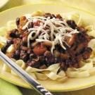 Fettuccine with Black Bean Sauce
