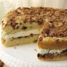 Cream-Filled Cinnamon Coffee Cake
