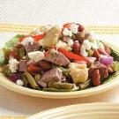 Mediterranean Lamb and Bean Salad