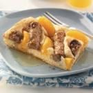 Peach & Sausage Breakfast Squares