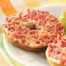 Cream Cheese 'n' Ham Bagels