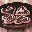 Strawberry Valentine Cookies