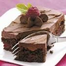 Truffle Raspberry Brownies