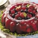 Berry Gelatin Mold
