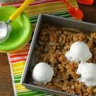Caramel Apple-Pear Crisp