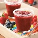 Frozen Lemon-Berry Margaritas
