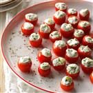 Cucumber-Stuffed Cherry Tomatoes