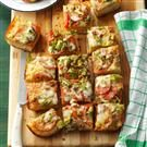 Vegetable & Cheese Focaccia