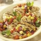 Grilled Chicken with Salsa