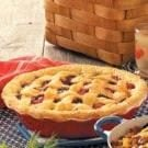 Cherry-Berry Peach Pie