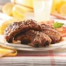 Maple-Glazed Spareribs