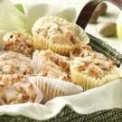 Glazed Cinnamon Apple Muffins