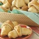 Almond-Filled Butterhorns