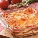 Tomato and Cheese Strata
