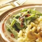 Dressed-Up French Green Beans
