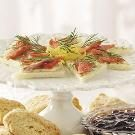 Smoked Salmon Tea Sandwiches