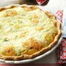Turkey Swiss Quiche