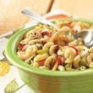 Hot Bacon Macaroni Salad