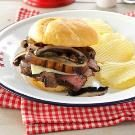 Molasses Steak Sandwiches