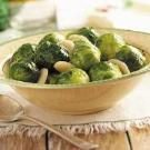Brussels Sprouts with Water Chestnuts