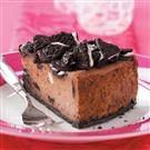 Chocolate Sandwich Cookie Cheesecake