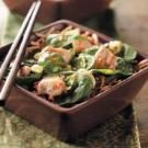 Asian Spinach Chicken Salad