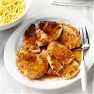 Turkey Scallopini with Marsala Sauce