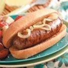 Grilled Seasoned Beer Bratwurst