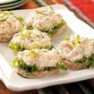 Crab Salad Tea Sandwiches