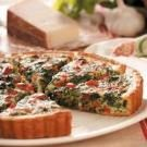 Pepperoni Spinach Quiche