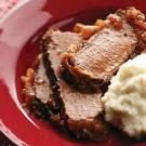 Double-Onion Beef Brisket