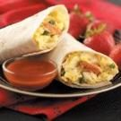 Andouille Egg Burritos