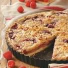 Raspberry Pear Tart
