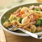 Ham and Broccoli Linguine