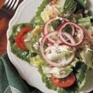 Green Salad with Poppy Seed Dressing