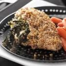 Spinach-Walnut Stuffed Chicken