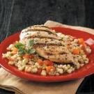 Grilled Chicken with Barley