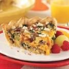Bacon Vegetable Quiche