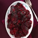 Simple Orange-Glazed Beets