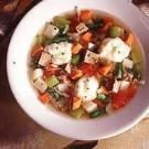 Vegetable Soup with Dumplings