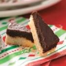 Peppermint Truffle Bars
