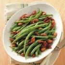 Green Beans with Sun-Dried Tomatoes and Almonds