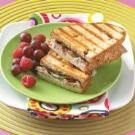 Pork Tenderloin Panini with Fig Port Jam